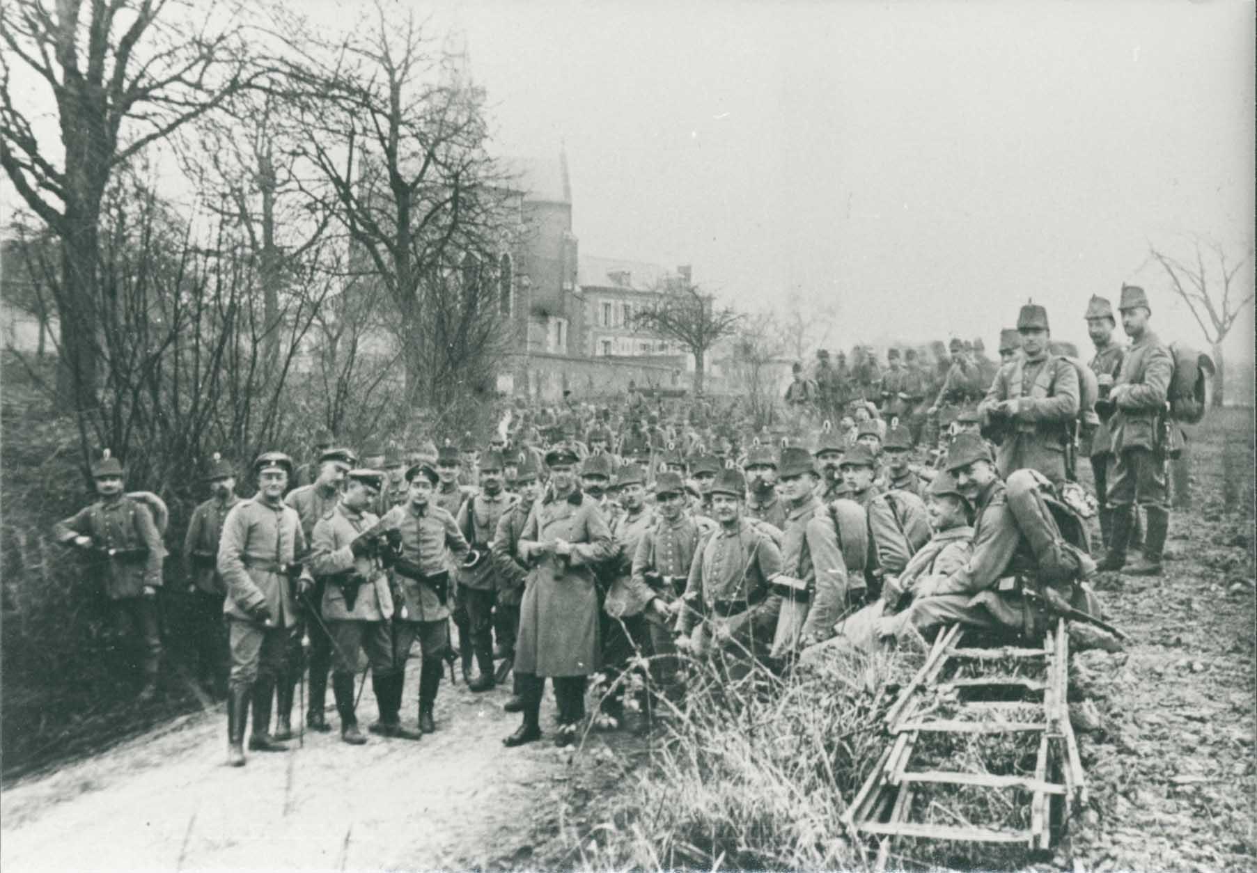 23. februar 1915. Nyt fra Peter Østergård: Beskrivelse af Noyon og Cuy