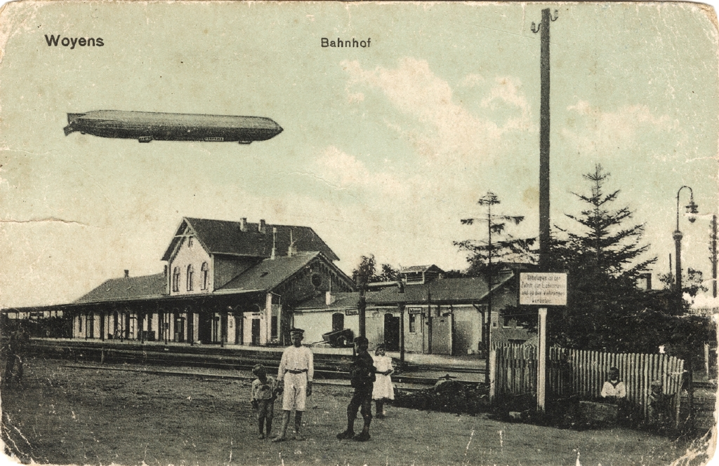 1. juni 1916. Zeppeliner beskudt ved Fanø