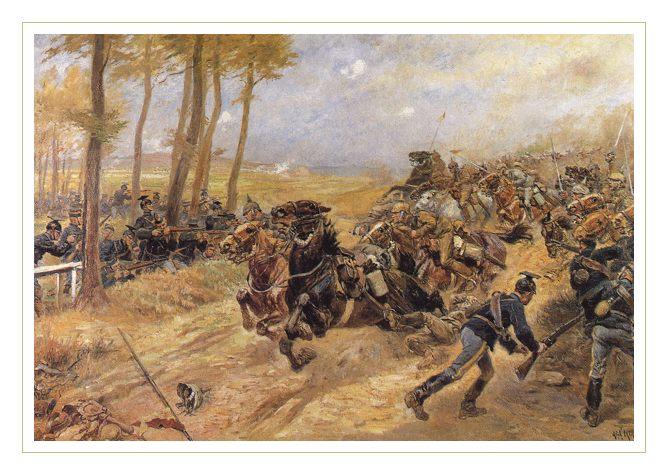 13. august 1914. Slaget ved Haelen