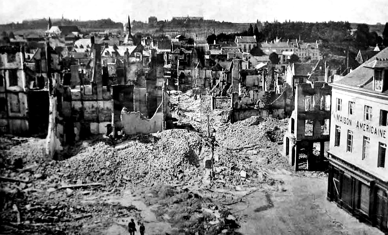 25. august 1914. Tyskerne rykker frem i vest – og tilbage i øst