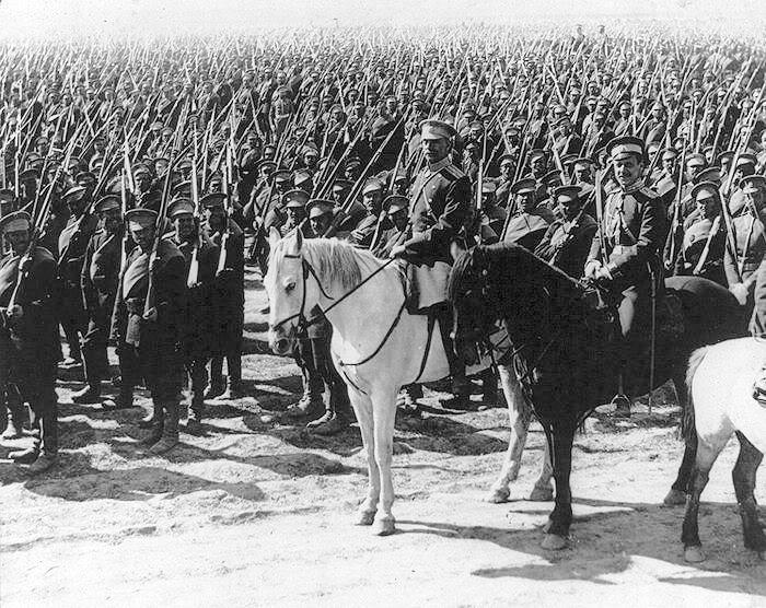 30. juni 1917. Galizien: Russerne indleder bombardementet.