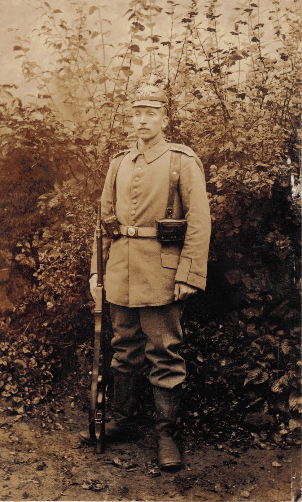 11. november 1914. Otto Theodor Wagner er ankommet til fronten