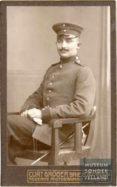 Jørgen Bertelsen Grøn (1892-1914) Mjels, Oksbøl