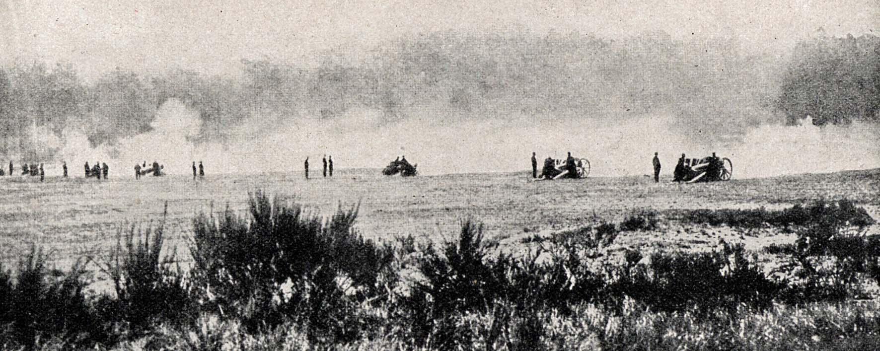 """26. september 1914. """"Meget hård artilleriild"""""""