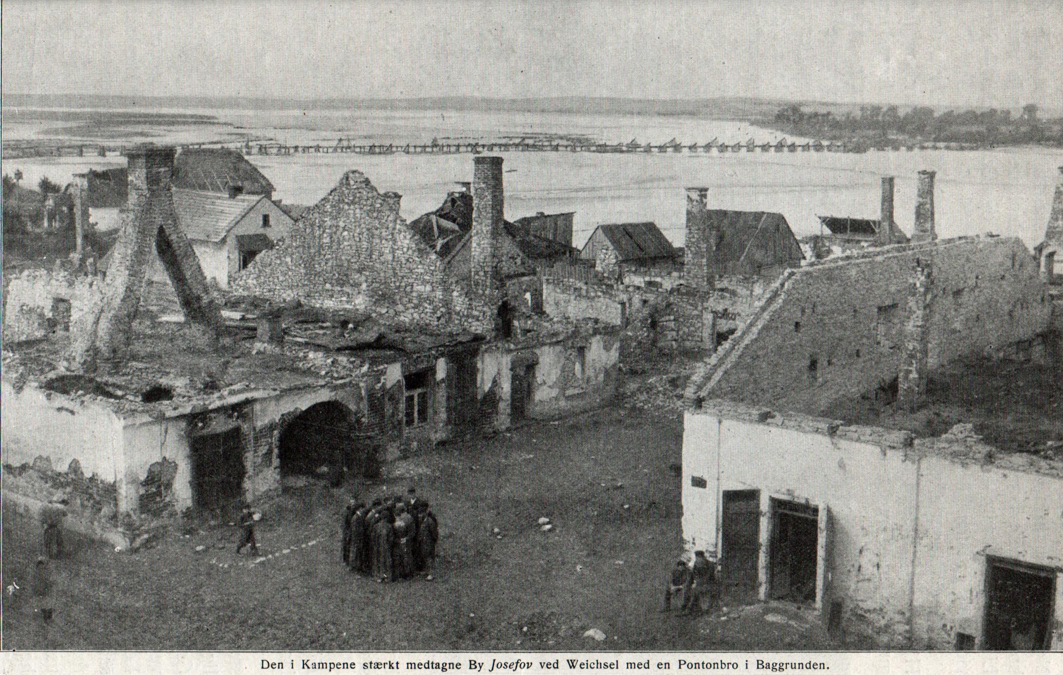 24. august 1915. Regiment 84 på Østfronten: Middagsmad med schrapnel
