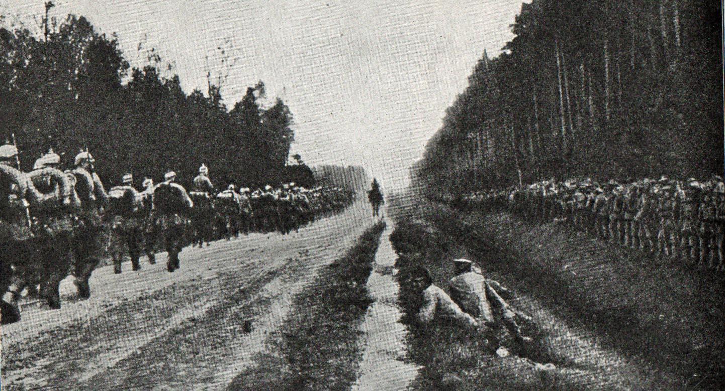 3. oktober 1914. Jeppe Østergaard mangler strømper.