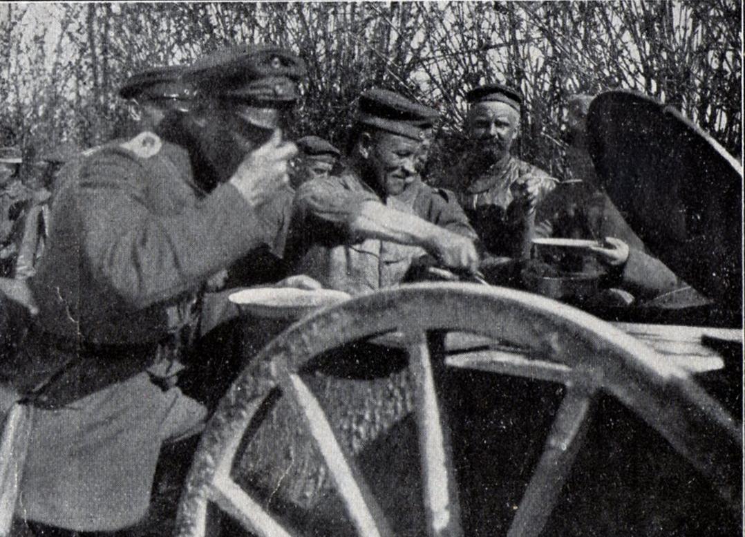 4. maj 1917. En frontrotte på køkkentjans