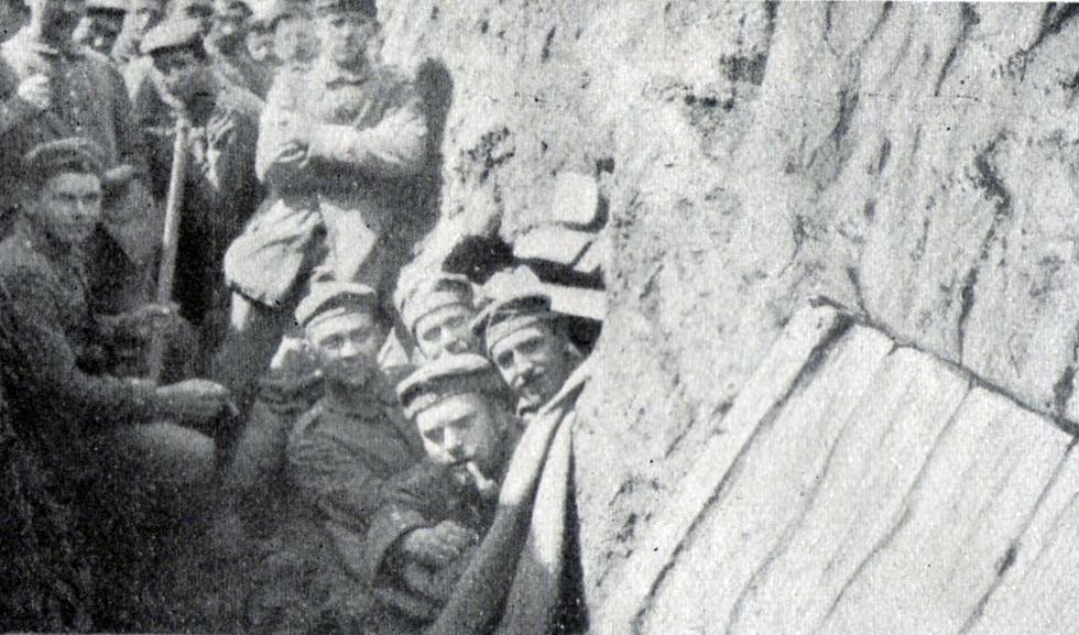 7. september 1914. 86'erne på tilbagetog.