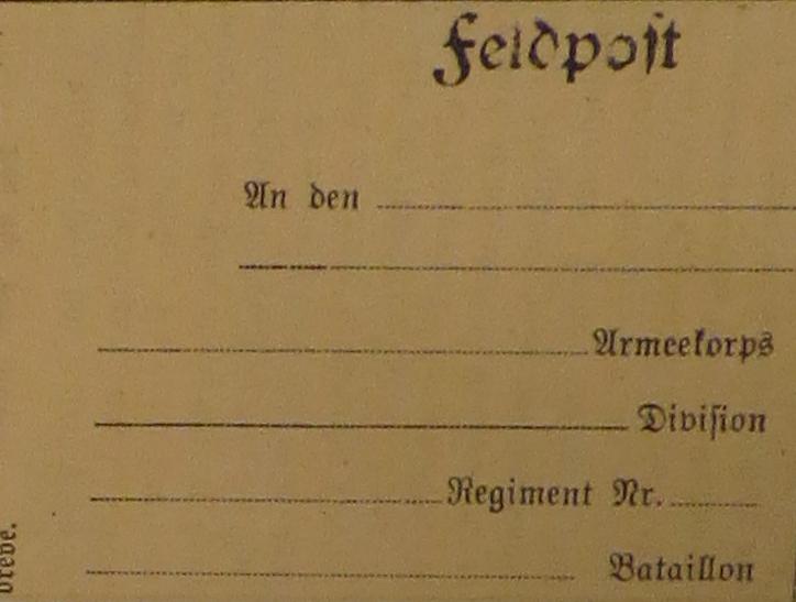 16. oktober 1914. Feltpost med forhindringer – og nyt om faldne og sårede.