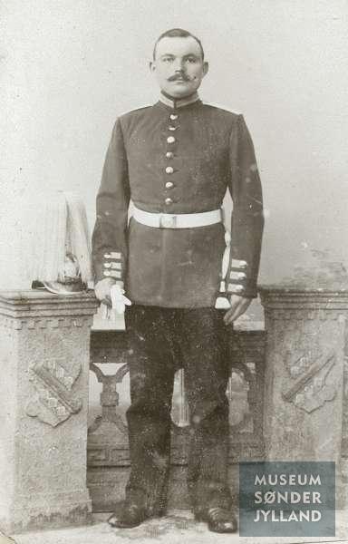 Peter Hansen Wolf (1883-1914) Vibøge, Lysabild