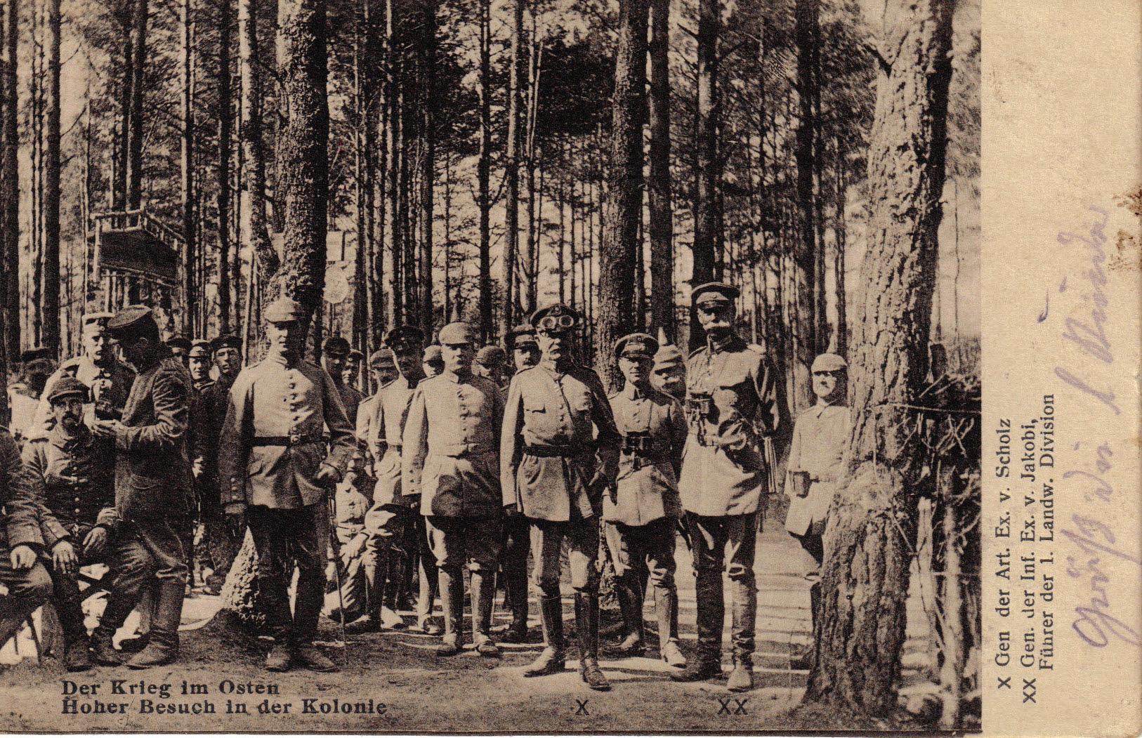 18. oktober 1914. LIR nr. 84: Kampe ved Lyck og Suwalki