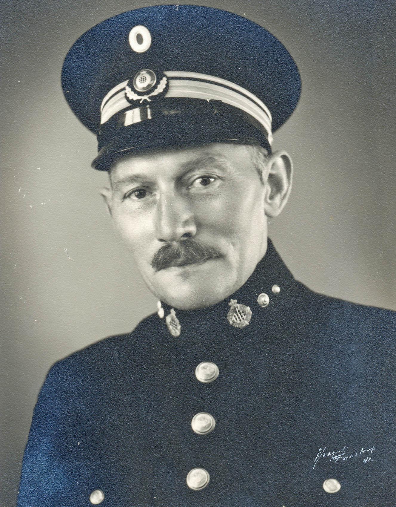 24. januar 1915. Hans Petersens kammerat i køkkenet