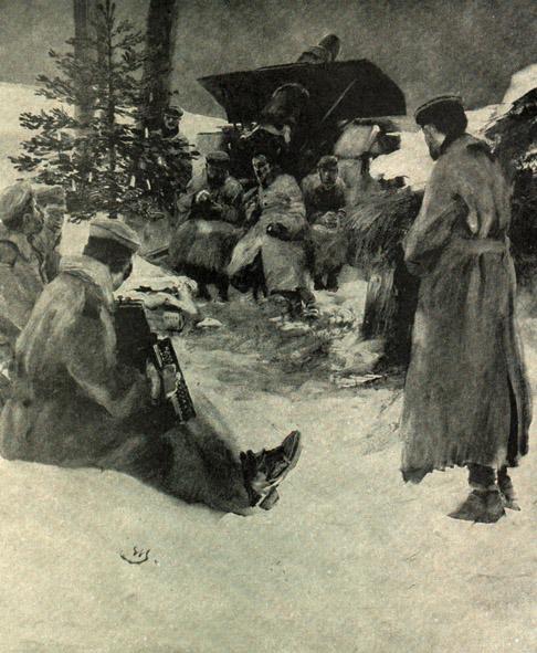 "30. december 1914. Hemming Skov: ""Bøssepiben fik en betænkelig varmegrad."""