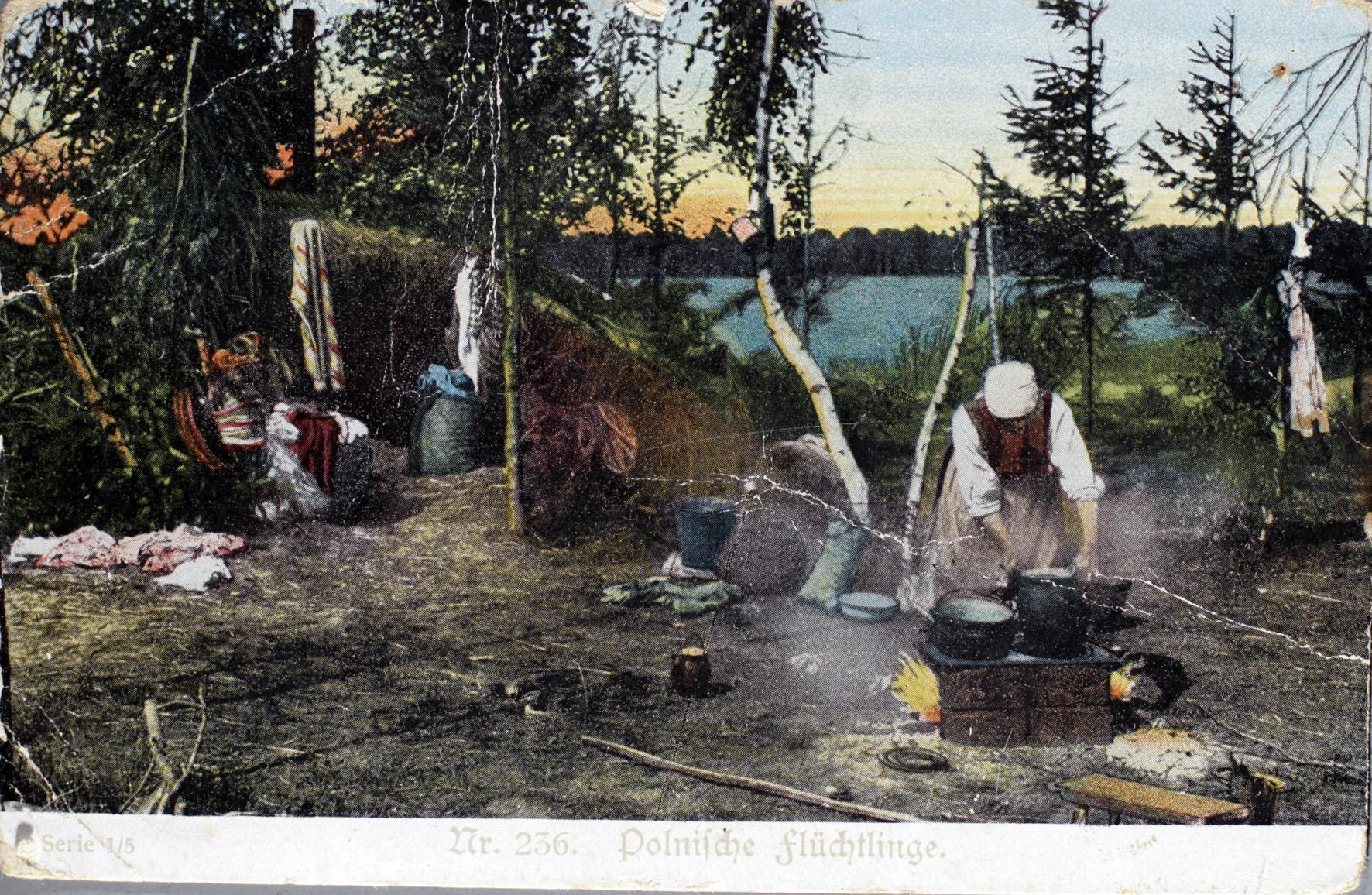 16. december 1914. Hemming Skov: Et uvant syn: En ung pige!