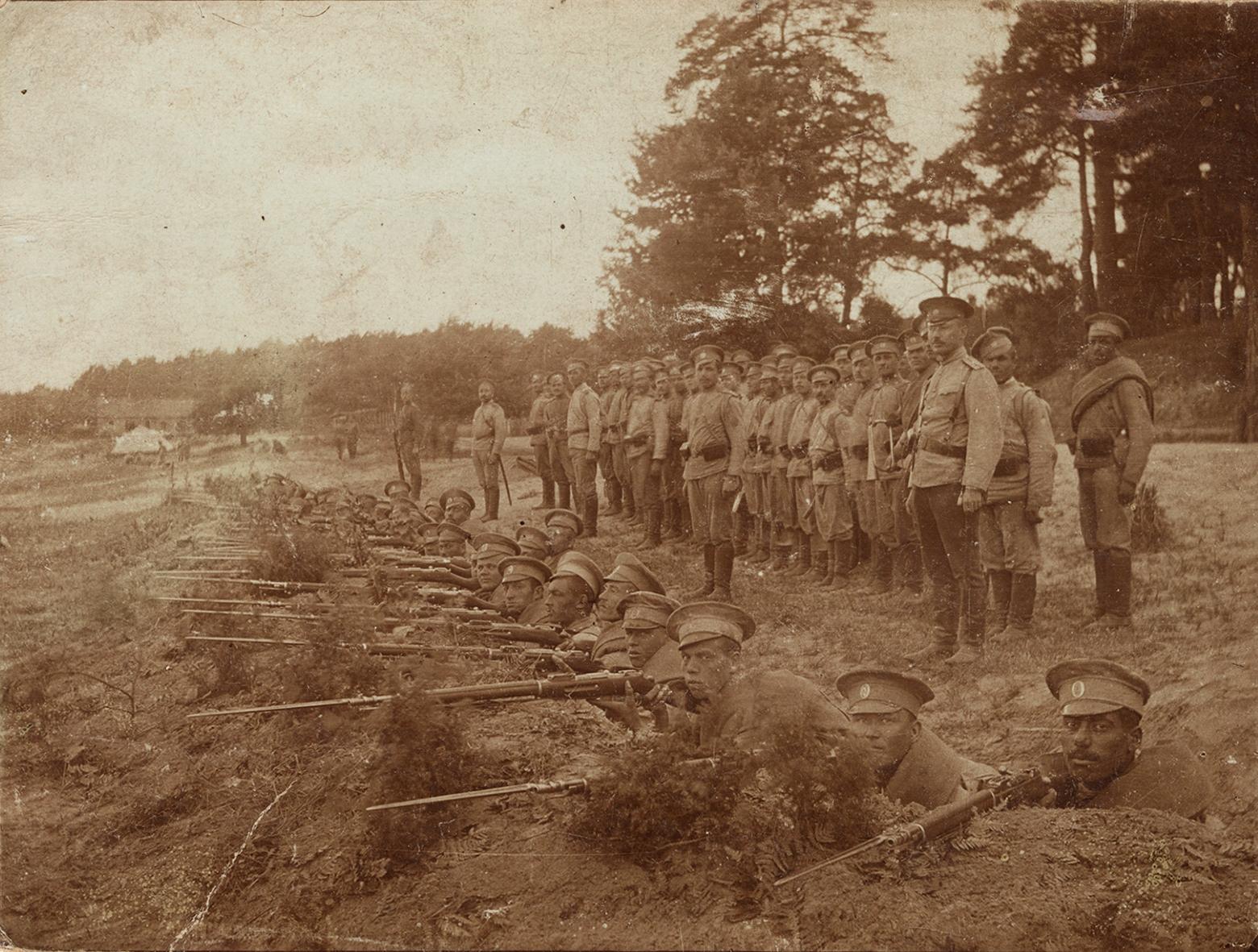 4. december 1914. Fanget bag fjendens linjer: Hårene rejste sig på hovedet – Skoven var fuld af russere!