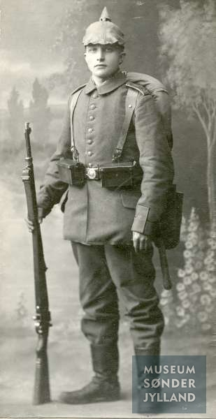 Friedrich Claus Christian Wulf (1889-1915) Sønderborg