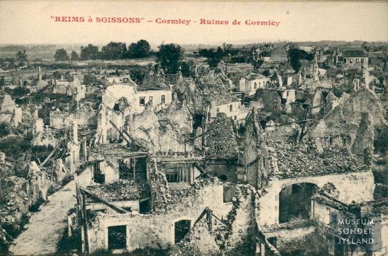 """14. januar 1915. """"Jeg begriber ikke, at vi slap fra det."""" Kresten Andresen i slaget ved Soissons"""