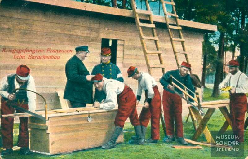 13. marts 1915. Krigsfanger som landarbejdere