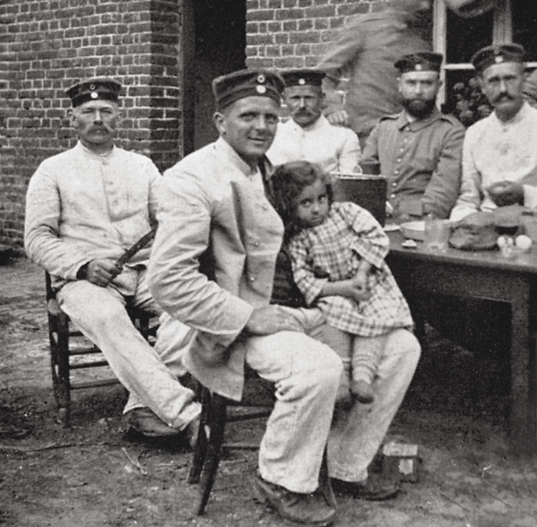 7. marts 1915. Krestens franske familie