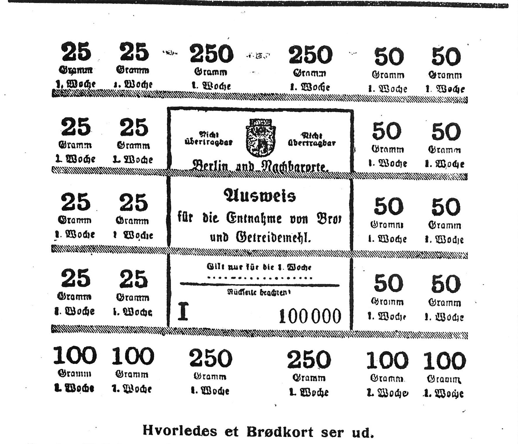 """18. oktober 1917 – Enkefru Røgind: """" …  det bliver en forfærdelig Vinter"""""""