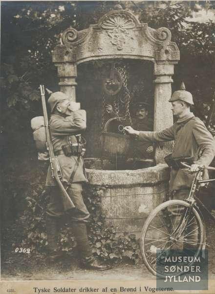8. marts 1916. Mathias Petersen ankommer til Elsass