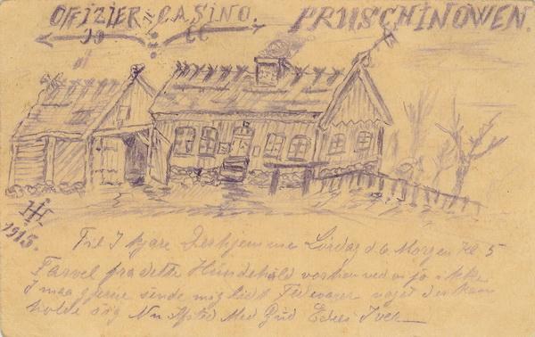 4. februar 1915 – Iver Henningsen ankommer til østfronten