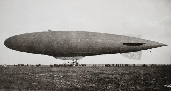 23. marts 1915 – luftskib ankommer til Tønder