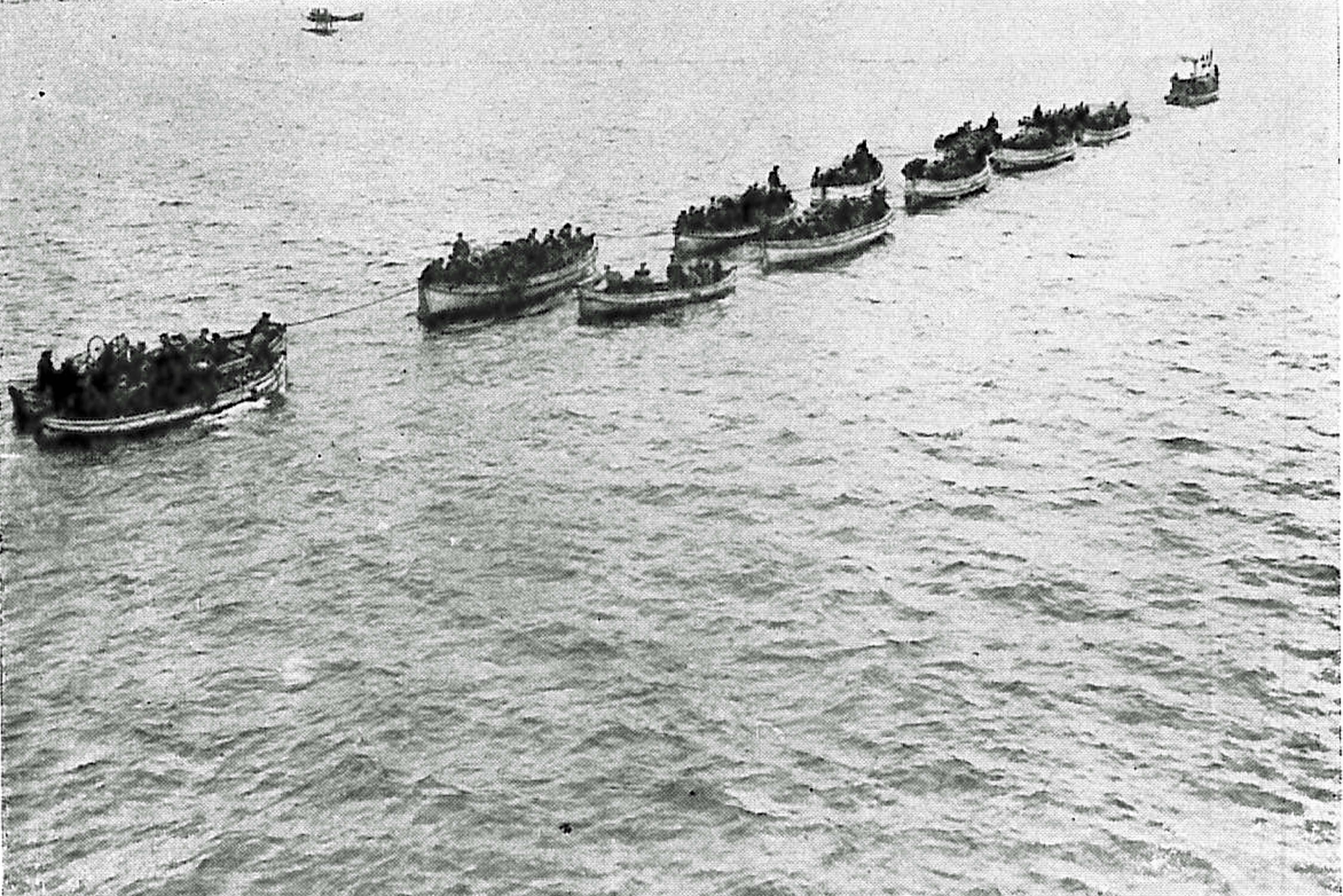 """29. oktober 1917. En meget farlig sejlads ved Letland: """"Alt var kaos!"""""""