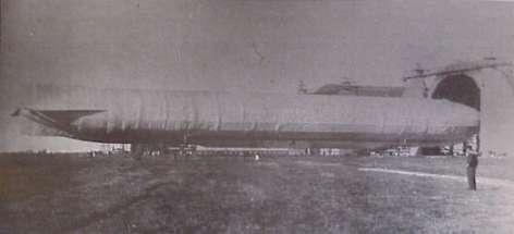 25. april 1915 – Nyt luftskib til Tønder