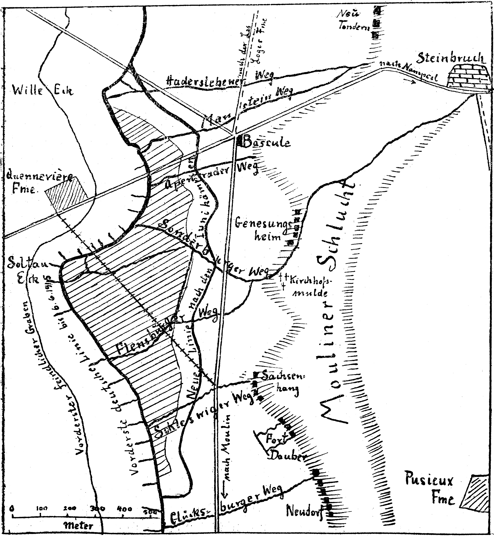 24. maj 1915. Forbereder franskmændene et angreb ved Moulin-sous-Touvent?