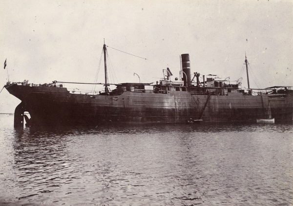 15. februar 1916 – Hilfskreuzer Marie passerer ækvator
