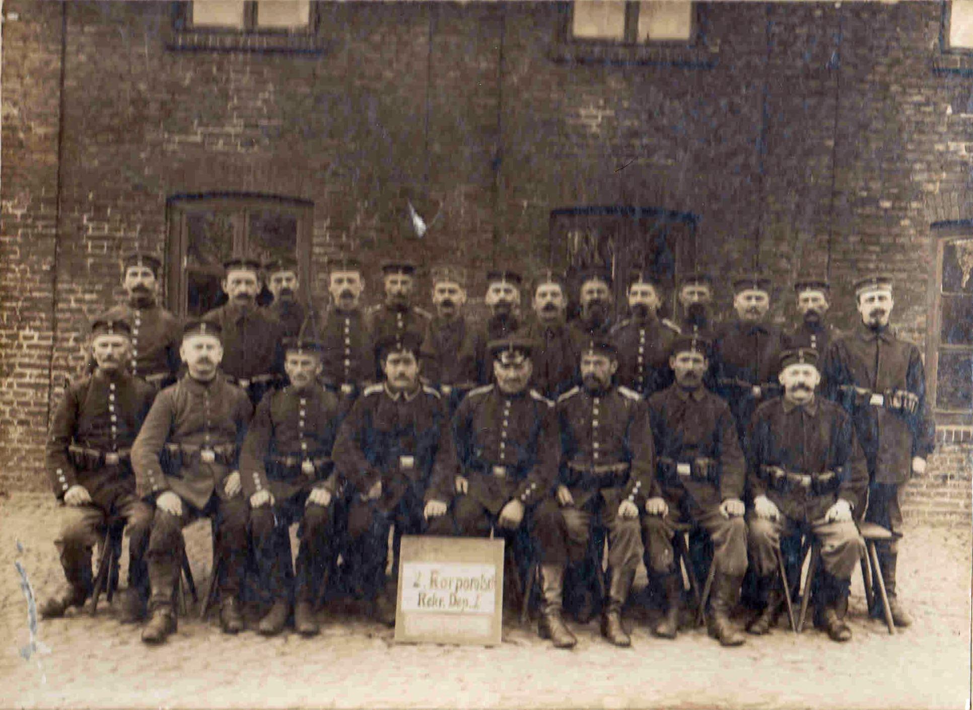 21. oktober 1916. Jakob Moos med kurs mod Danmark