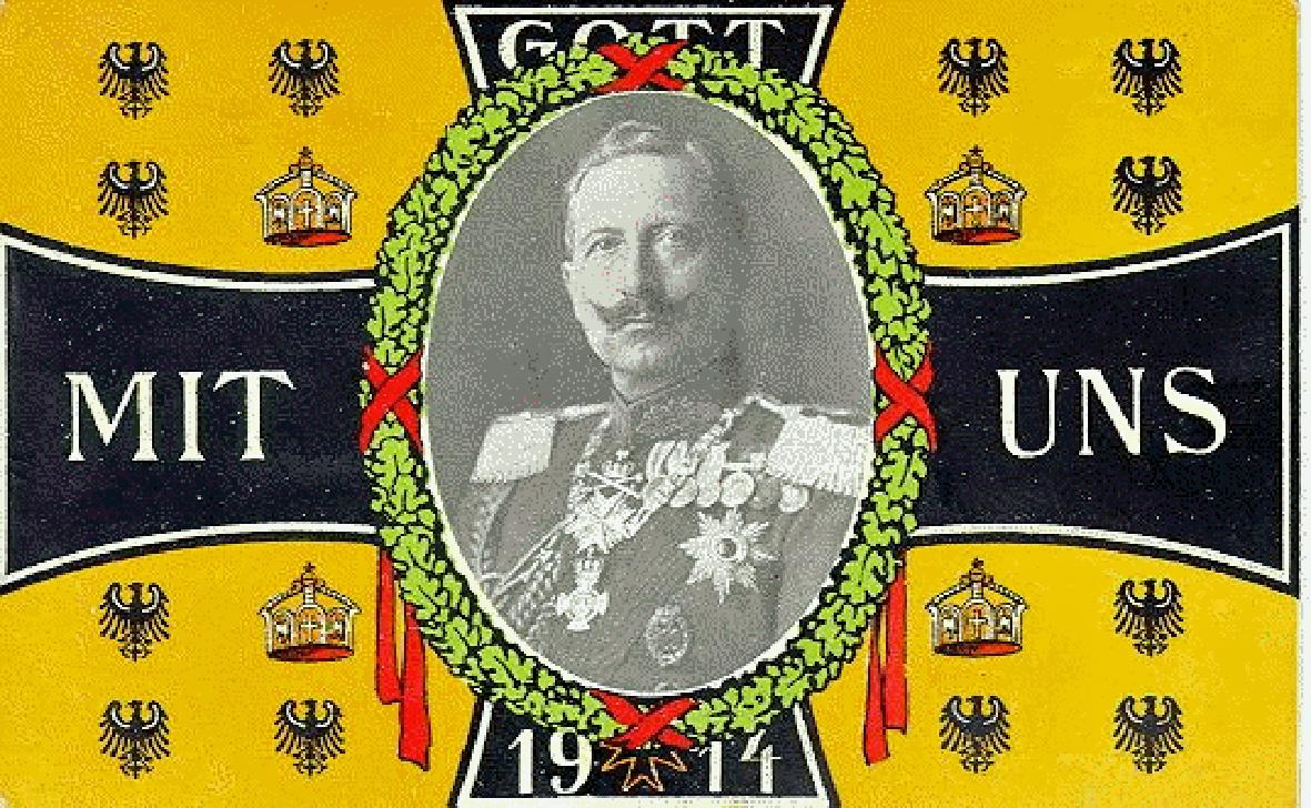 """17. marts 1917. """"Gott strafe England … og alle danske!"""""""