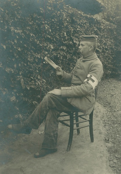 """29. december 1917 – Peter Knudsen: """"Juleaften laa vi i 1. Linie voran Paschendale"""""""