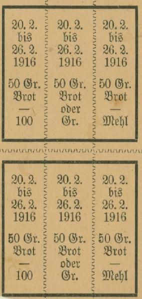 "13. maj 1915 – Ellen Jensen: ""Krigsbrød"""