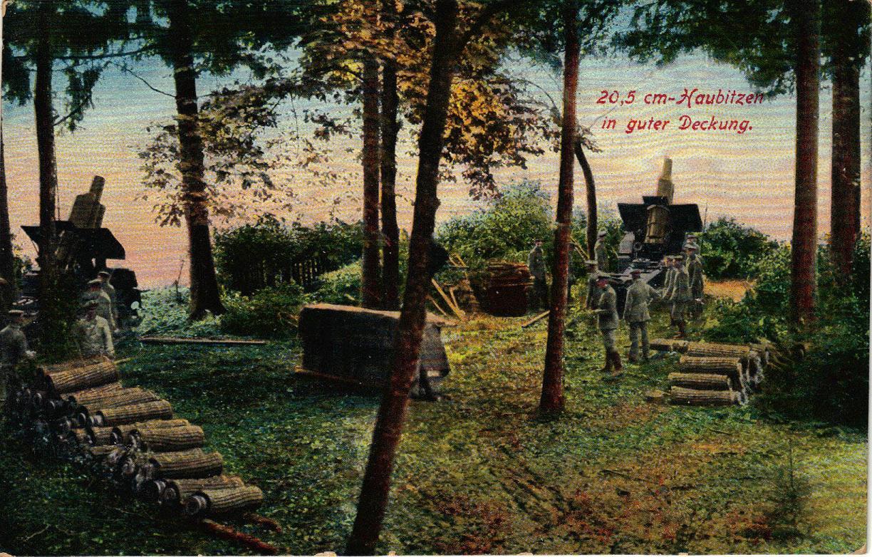 """3. august 1915. Efter slaget: """"Her har desværre mange af vore Infanterister fundet Døden for deres Fædreland"""""""