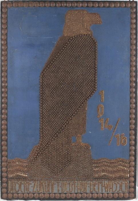 """1. august 1915 – Enkefru Røgind: """"stort Gøgl"""""""