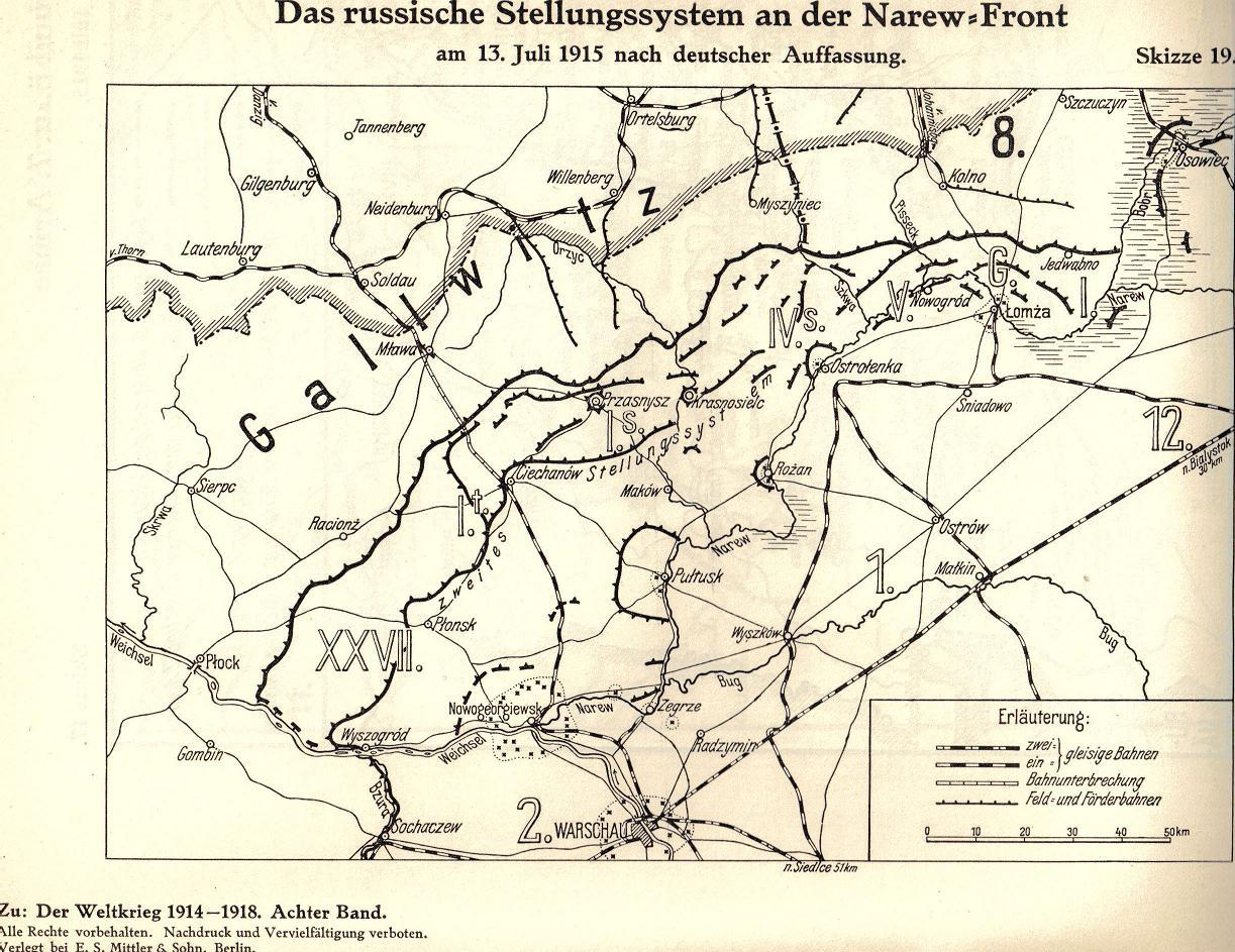 """30. juli 1915. LIR84 – """"NAREW-BOHR SLAGET"""""""