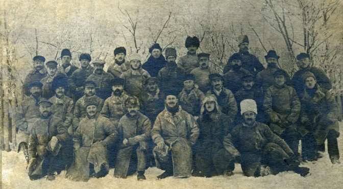 24. december 1915. Juleaften i en krigsfangelejr nord for Petrograd (Skt. Petersborg)