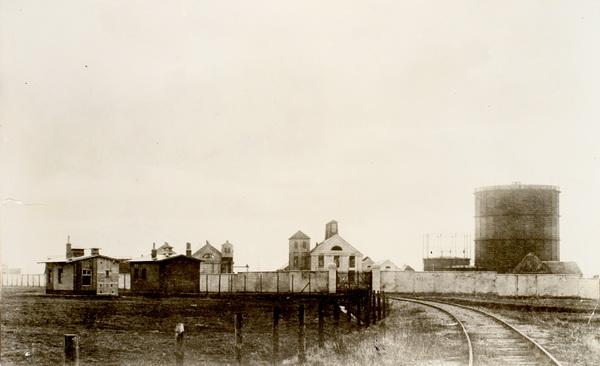 31. oktober 1915 – Tønder Zeppelinbase: Nybygning