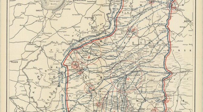 26. september 1915: Overblik over månedens kampe på Østfronten