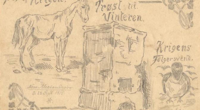 """28. september 1915 – Iver Henningsen: """"Så I kære, vinteren bliver vist i Rusland"""""""