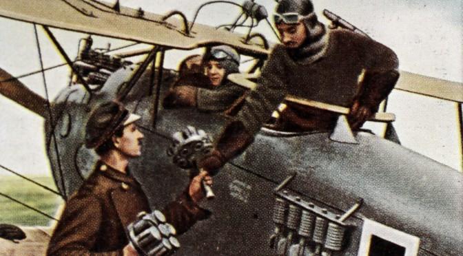 29. september 1916. H.C. Brodersen til Somme-fronten