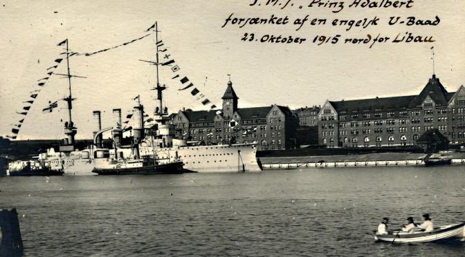23. oktober 1915. Sønderborg-krydseren SMS Prinz Adalbert torpederet!