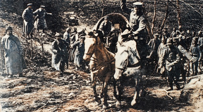 12. juni 1916. Frygtelige marchture på Østfronten