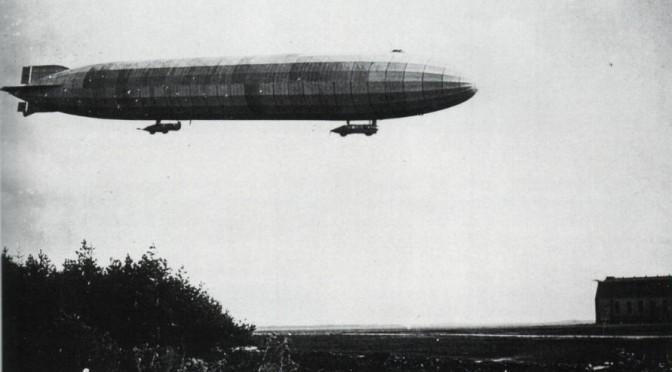 Historier om Danmark: På sporet af 1. Verdenskrig på Zeppelinbasen ved Tønder 9. juli 2017