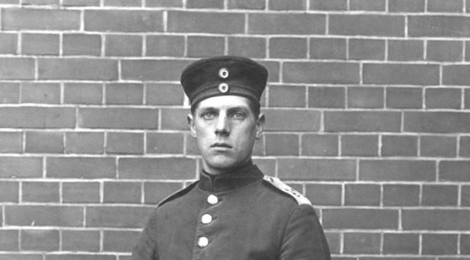 "23. juli 1917 – Thyge Thygesen: ""nu har jeg da havt en god ""Trykposten""…"""