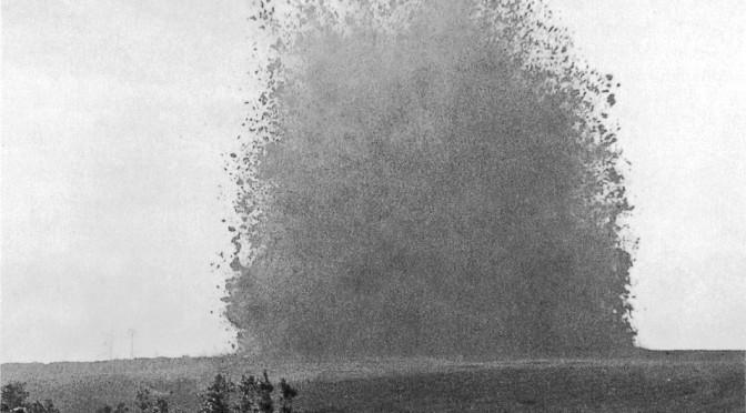 15. januar 1917. Minegang over under franskmændenes stillinger