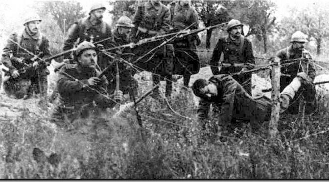 24. Oktober 1916: Franskmændene er i offensiven ved Verdun og generobrer Fort Douaumont