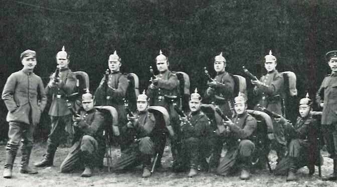 22. august 1917. Bergholt hjem på orlov